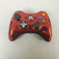 Official Microsoft Xbox 360 Red Chrome Wireless Controller 1403 OEM gamepad