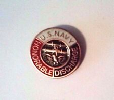United States Navy Honorable Discharge Hat Pin