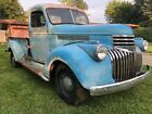 """1941 Chevrolet Other Pickups  1941 Chevy Pickup Truck 15"""" Artillery Wheels 3/4 Ton 7 Foot Box Patina Project"""