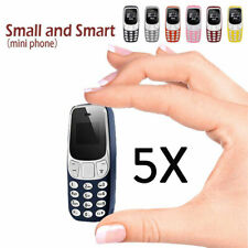 L8STAR BM10 Mini Telephone Super Small Mobile Phones GSM Voice SIM Bluetooth SS