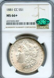1881-CC  Morgan Dollar Carson City NGC MS-66+ CAC