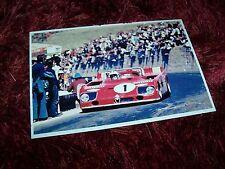 Photo / Photograph  Vaccarella / Stommelen ALFA ROMEO 33TT3 Targa Florio 1972 //