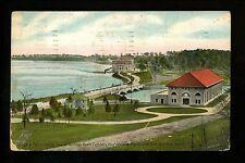 Niagara Falls Vintage postcard New York NY Canada Canadian Power Company 1909
