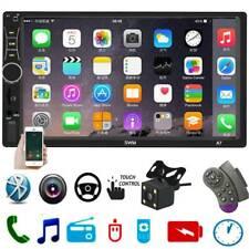 2DIN Car Stereo 7in Touch BT FM Radio USB In Dash Head Unit MP5 Player w/Camera