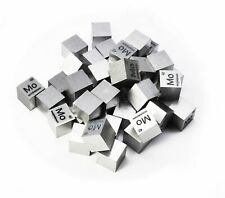 Molybdenum Metal 10mm Density Cube 99.95% Pure for Element Collection USA SHIP