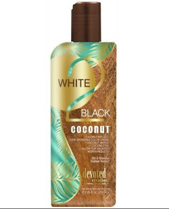 Devoted Creations White 2 Black Coconut Tanning Lotion 8.5 oz