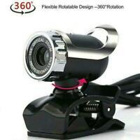 1080P HD Webcam USB Computer Web Camera For PC Laptop Microphone Desktop # NEW