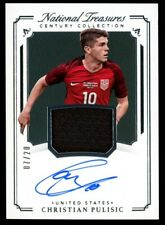 Christian Pulisic - 2018 National Treasures Century Collection Auto - #07/20