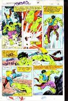 1979 Incredible Hulk 235 Marvel Comic color guide art:1970s Marvelmania/Avengers