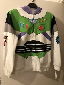 Buzz Lightyear Xl Youth (small Women's) Toy Story Hoody Hoodie Top Disney World