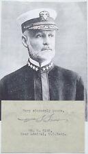 Admiral William Sims WW I Naval Commander Pres Naval War College Autograph   .