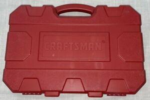 CRAFTSMAN Empty Molded Plastic Impact Socket Case for 48 piece set SAE/MM