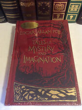 Tales of Mystery and Imagination by Edgar Allan Poe - illustrated leather-bound