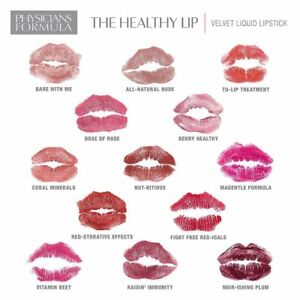 Physicians Formula The Healthy Lip Velvet Liquid Lipstick ~ Choose Your Shade
