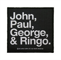 Vintage Beatles Patch John Paul George Ringo 3 Inch