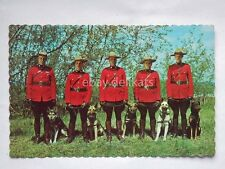 TORONTO CANADA Royal Canadian Mounted Police old postcard