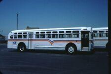 Santa Clara County Transit GM Old Look bus original slide
