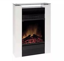 NEW Dimplex 050144 MCFP15GW Gisella Electric Micro-Fireplace Suite 1.5 kW