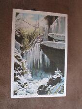 Early postcard - Winter scene - Cwm Fryd - Merthyr Glamorgan