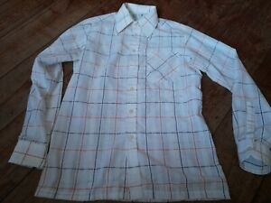 """Marks and Spencers St Michaels mens vintage """"cheesecloth """" shirt"""