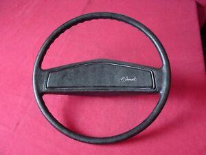 Rare 1971 72 Chevelle Camaro Monte Carlo NK2 Optional Black Steering Wheel