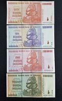 SET OF  5, 10, 20, 50 billion  Dollars Banknote Money Currency Note Bill