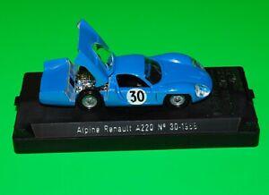 SOLIDO RETRO LE MANS  ALPINE RENAULT A220 No.30-1968 1/43 scale.