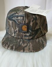 Carhartt Hat Camouflage Thermolite Insulated Duck Canvas Ear Flaps XL Brand New