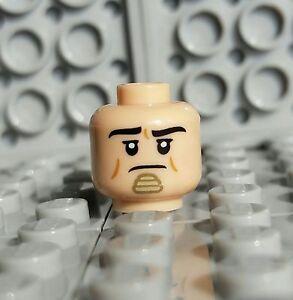 LEGO Light Flesh KING TUT Batman Super Heroes Pharaoh Minifigure Head NEW
