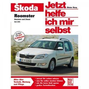 Skoda Roomster Benzin/Diesel Typ 5J 2006-2015 Reparaturanleitung Motorbuchverlag