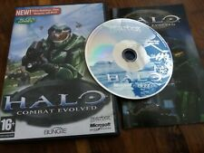 Halo Combat Evolved - UK PC CD ROM + Manual SN Serial Number VGC