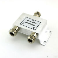 1x RF Coaxial Power N 2-Way Splitter Divider Combiner 380-2500MHz Signal Booster