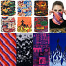 Skull Camo Bandana Head Face Mask Neck Gaiter Snood Headwear Beanie Tube Scarf