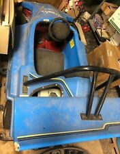 Commercial go cart one seater Blue