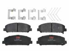 For 2017 Nissan Frontier Brake Pad Set Front TRW 61284CW Ceramic Premium