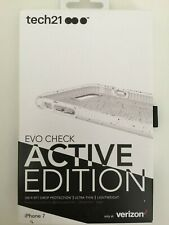 """Tech21 Evo Check Active Edition Case for iPhone 8 & iPhone 7 4.7"""" - White NEW"""