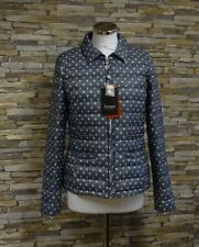 Junge Ladies Grey and White Spots Down Filled Lightweight Jacket Size 10 New