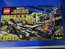 Lego 6864 Super Heroes Batman Batmobile two face persecución nuevo embalaje original sin abrir