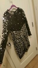 Black Sequin coctail Dress. Designed to emulate a Sherry Hill Dress!!!
