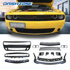 HellCat Style Front Bumper Body Kits Lip Spolier Fit 2015-2019 Dodge Challenger