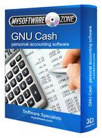 GNU Cash Accounting Finance Book Keeping Software Computer Program