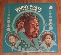 Barry White – Can't Get Enough LP Album 33rpm 1974 Red Vinyl  BT 444