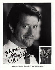 Jeffrey Willerth Signed/Autographed Babylon 5 Promo 8x10 Photo Kosh Sci-Fi Gem