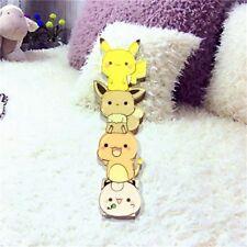Kawaii Pikachu Pokemon Cartoon Badge Anime Kids Backpack Acrylic Pin For Jeans