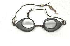 Antique Steampunk Original Safety Spectacle Glasses Optical Vision Cool Clear