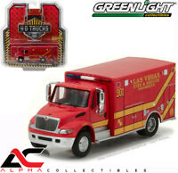 GREENLIGHT 33090-C 1:64 2013 DURASTAR LAS VEGAS FD FIRE DEPARTMENT