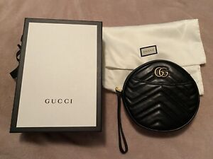 Gucci GG Marmont Circular Wristlet - Brand New Never Used Authentic