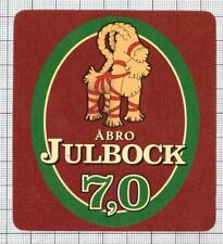 SWEDEN Abro Bryggeri,Vimmerby JULBOCK 7,0 christmas beer label C1979 030