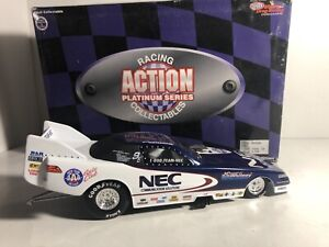 Action 1996 Gary Densham NEC NHRA Racing JC Whitney 1:24 Scale Diecast Funny Car