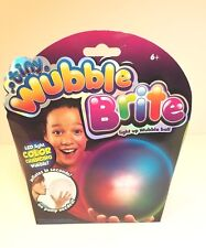 Tiny WUBBLE BRIGHT Light Up Color Changing Wubble Balls RED BLUE + GREEN